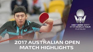 【Video】JUN Mizutani VS SEO Hyundeok, 2017 Seamaster 2017 Platinum, Australian Open best 32