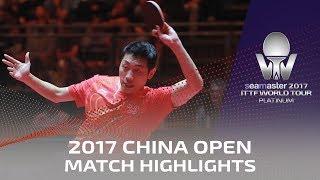 【Video】XU Xin VS LEBESSON Emmanuel, 2017 Seamaster 2017 Platinum, China Open best 32