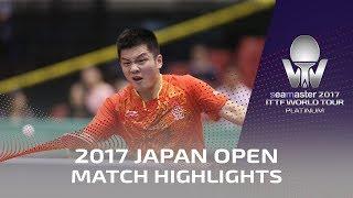 【Video】MA Long VS FAN Zhendong, 2017 Seamaster 2017 Platinum, LION Japan Open finals