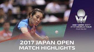 【Video】HAN Ying VS CHEN Meng, 2017 Seamaster 2017 Platinum, LION Japan Open semifinal