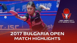 【Video】MIZUKI Morizono VS MIYU Maeda, 2017 Seamaster 2017  Asarel Bulgaria Open finals