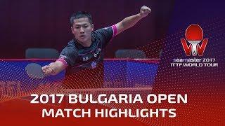 【Video】SKACHKOV Kirill VS YANG Tzu-Yi, 2017 Seamaster 2017  Asarel Bulgaria Open best 32