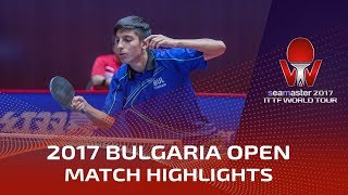 【Video】MIZUKI Oikawa VS TODOROV Stefan, 2017 Seamaster 2017  Asarel Bulgaria Open best 32