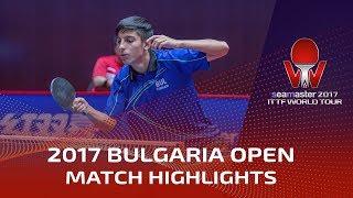 【Video】MIZUKI Oikawa VS TODOROV Stefan, 2017 Seamaster 2017  Asarel Bulgaria Open best 32