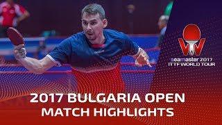 【Video】OVTCHAROV Dimitrij VS SKACHKOV Kirill, 2017 Seamaster 2017  Asarel Bulgaria Open best 32