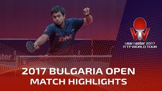 【Video】YUTO Kizukuri VS GHOSH Soumyajit, 2017 Seamaster 2017  Asarel Bulgaria Open best 32