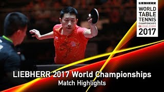 【Video】MA Long VS XU Xin, LIEBHERR 2017 World Table Tennis Championships semifinal