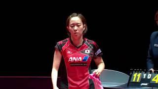 【Video】KASUMI Ishikawa VS MIMA Ito, 2017 Seamaster 2017  Asarel Bulgaria Open finals