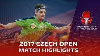 【Video】BOLL Timo VS ASSAR Omar, 2017 Seamaster 2017  Czech Open best 32