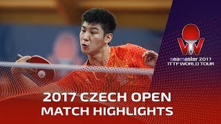 【Video】XUE Fei VS PROKOPCOV Dmitrij, 2017 Seamaster 2017  Czech Open