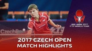 【Video】DIAZ Adriana VS MITTELHAM Nina, 2017 Seamaster 2017  Czech Open finals