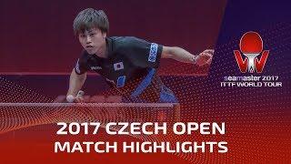 【Video】KENTA Tazoe VS BARABANOV Kiryl, 2017 Seamaster 2017  Czech Open