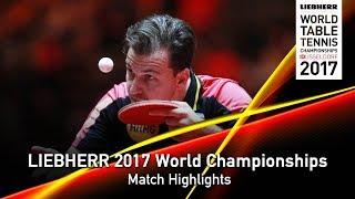 【Video】DYJAS Jakub VS BOLL Timo, LIEBHERR 2017 World Table Tennis Championships best 64