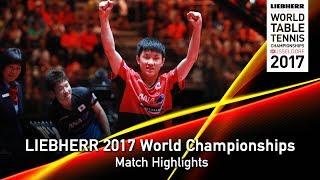 【Video】JUN Mizutani VS TOMOKAZU Harimoto, LIEBHERR 2017 World Table Tennis Championships best 64