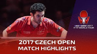 【Video】BOLL Timo VS LEBESSON Emmanuel, 2017 Seamaster 2017  Czech Open semifinal