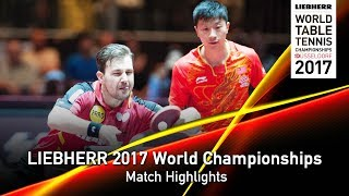 【Video】FAN Zhendong・XU Xin VS BOLL Timo・MA Long, LIEBHERR 2017 World Table Tennis Championships best 16