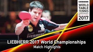 【Video】OVTCHAROV Dimitrij VS JANCARIK Lubomir, LIEBHERR 2017 World Table Tennis Championships best 128