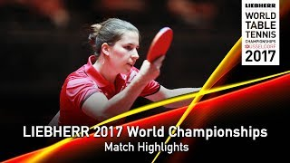 【Video】ORTEGA Daniela VS ASCHWANDEN Rahel, LIEBHERR 2017 World Table Tennis Championships best 64