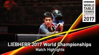 【Video】JHA Kanak VS MCCREERY Paul, LIEBHERR 2017 World Table Tennis Championships