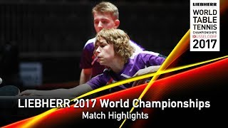【Video】KARALI Naim・LAID Islem VS RASMUSSEN Tobias・CHRISTENSEN Stefanie, LIEBHERR 2017 World Table Tennis Championships best 128