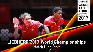 【Video】BELROSE Ocean・LE CAILL Tearo VS BEN YAHIA Kerem・GARCI Fadwa, LIEBHERR 2017 World Table Tennis Championships best 128