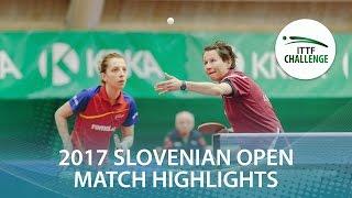 【Video】SAMARAElizabeta・STRBIKOVA Renata VS EKHOLM Matilda・POTA Georgina, 2017 ITTF Challenge, Slovenia Open finals