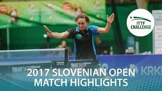 【Video】HITOMI Sato VS CHENG Hsien-Tzu, 2017 ITTF Challenge, Slovenia Open semifinal