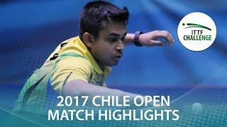 【Video】FLORITZ Philipp VS GHOSH Soumyajit, Seamaster 2017 ITTF Challenge, Seamaster Chile Open semifinal