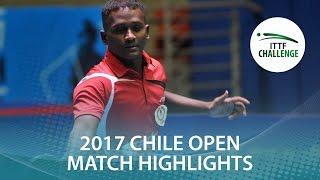 【Video】ANTHONY Amalraj VS TABACHNIK Pablo, Seamaster 2017 ITTF Challenge, Seamaster Chile Open best 16