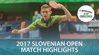 【Video】BERTRAND Irvin VS STANKEVICIUS Medardas 2017 ITTF Challenge, Slovenia Open