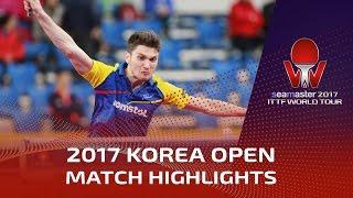 【Video】SEO Hyundeok VS SZOCS Hunor, 2017 Seamaster 2017  Korea Open best 64