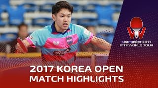 【Video】MIZUKI Oikawa VS JEONG Sangeun, 2017 Seamaster 2017  Korea Open best 64