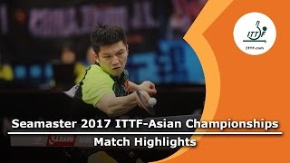 【Video】FAN Zhendong VS JEONG Sangeun, 2017 ITTF-Asian Championships finals