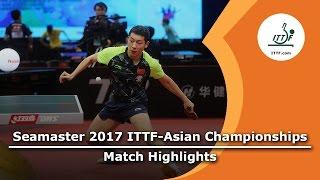 【Video】XU Xin VS JANG Woojin, 2017 ITTF-Asian Championships best 16