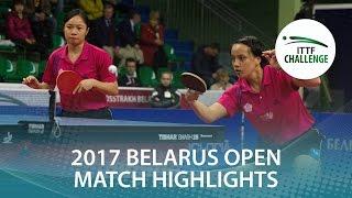 【Video】LIN Chia-Hsuan・LIN Po-Hsuan VS MIYU Kato・MISAKI Morizono, 2017 ITTF Challenge, Belgosstrakh Belarus Open finals