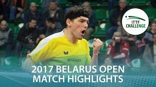 【Video】VLASOV Grigory VS WANG Zengyi, 2017 ITTF Challenge, Belgosstrakh Belarus Open semifinal