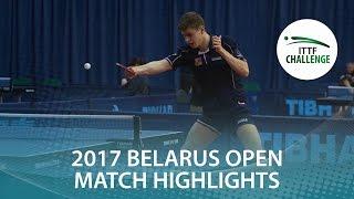 【Video】YUTO Kizukuri VS POLANSKY Tomas, 2017 ITTF Challenge, Belgosstrakh Belarus Open semifinal