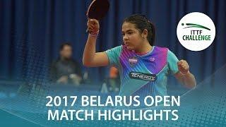 【Video】DIAZ Adriana VS NAGAO Takako, 2017 ITTF Challenge, Belgosstrakh Belarus Open best 32