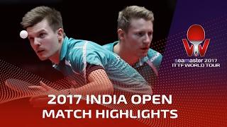 【Video】MASATAKA Morizono・YUYA Oshima VS FILUS Ruwen・WALTHER Ricardo, 2017 Seamaster 2017 India Open finals