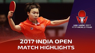 【Video】NG Wing Nam VS SAKURA Mori, 2017 Seamaster 2017 India Open semifinal