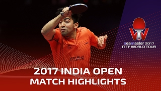 【Video】DESAI Harmeet VS KOKI Niwa, 2017 Seamaster 2017 India Open best 16
