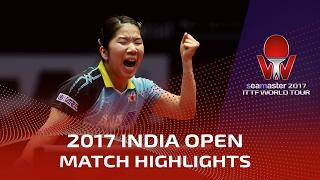 【Video】SAKURA Mori VS SOO Wai Yam Minnie, 2017 Seamaster 2017 India Open finals