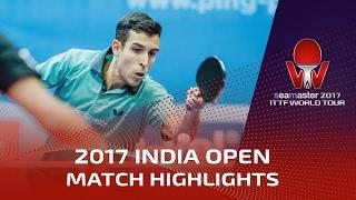 【Video】ROBLES Alvaro VS GROVER Sudhanshu 2017 Seamaster 2017 India Open
