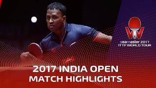 【Video】ANTHONY Amalraj VS ROBINOT Quentin 2017 Seamaster 2017 India Open
