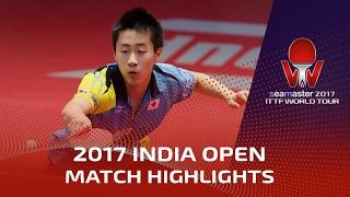 【Video】DESAI Harmeet VS TAKUTO Izumo 2017 Seamaster 2017 India Open
