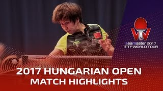 【Video】CHEN Meng VS CHEN Xingtong, 2017 Seamaster 2017 Hungarian Open quarter finals