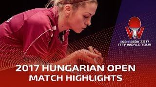 【Video】ZHOU Yihan VS BILENKO Tetyana, 2017 Seamaster 2017 Hungarian Open best 16