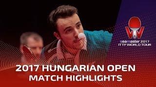 【Video】GAUZY Simon VS LIN Gaoyuan, 2017 Seamaster 2017 Hungarian Open best 16