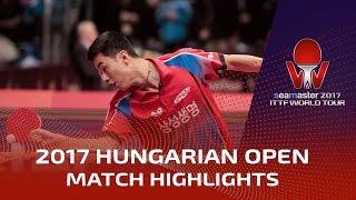 【Video】TOKIC Bojan VS JOO Saehyuk, 2017 Seamaster 2017 Hungarian Open best 32