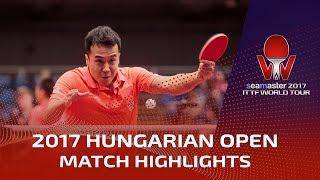 【Video】SHANG Kun VS KARAKASEVIC Aleksandar, 2017 Seamaster 2017 Hungarian Open best 64